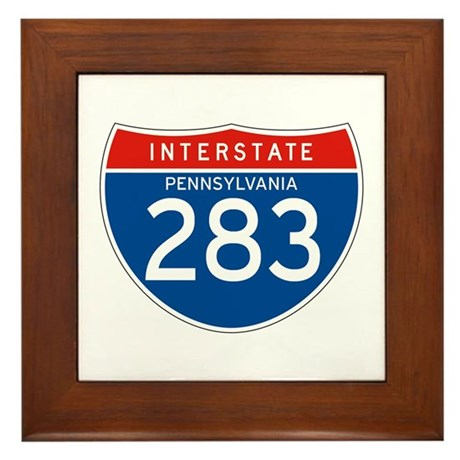 Interstate 283 - PA Framed Tile
