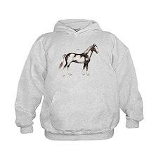 Pinto Horse Hoodie
