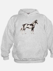 Pinto Horse Hoody