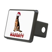 Naughty German Shepherd Hitch Cover