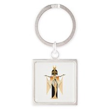 Isis Square Keychain