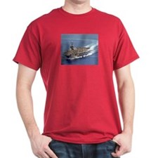 USS Carl Vinson Red T-Shirt Navy gift idea