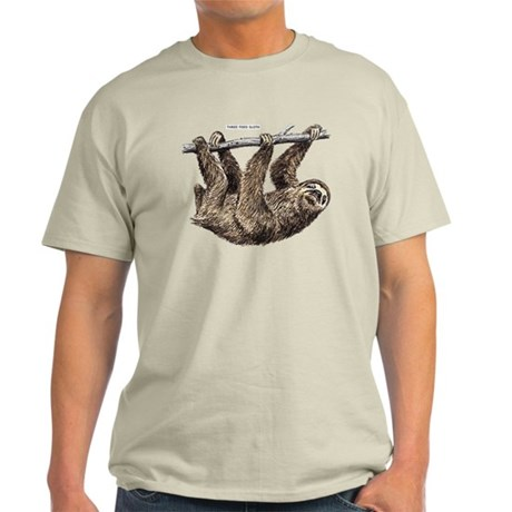 Three-Toed Sloth Light T-Shirt
