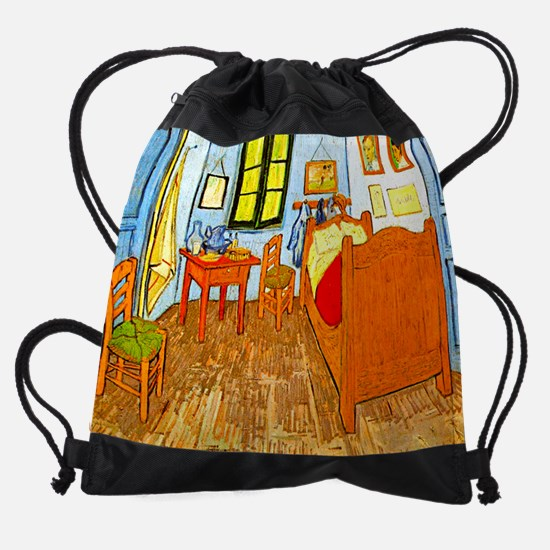 Room at Arles calendar.jpg Drawstring Bag