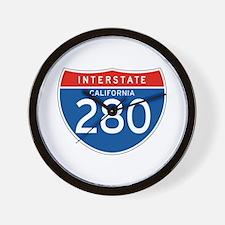 Interstate 280 - CA Wall Clock