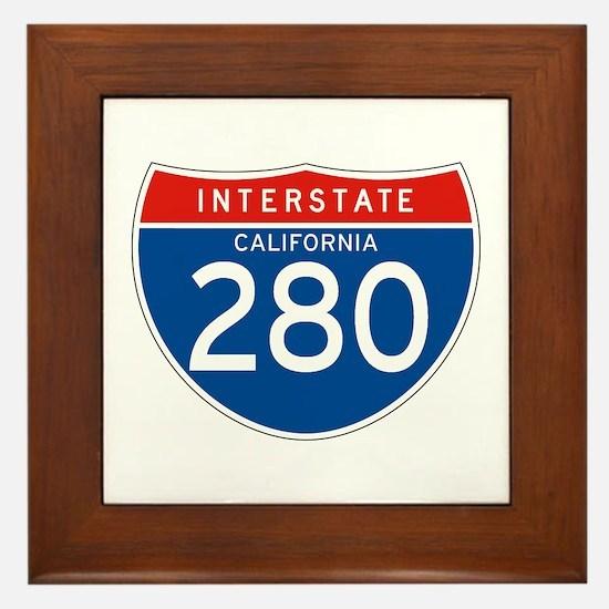 Interstate 280 - CA Framed Tile