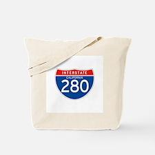 Interstate 280 - CA Tote Bag