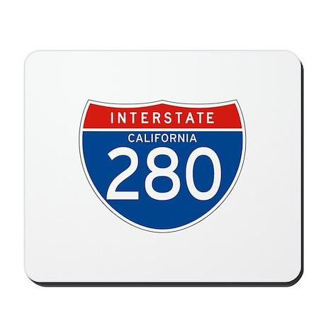 Interstate 280 - CA Mousepad