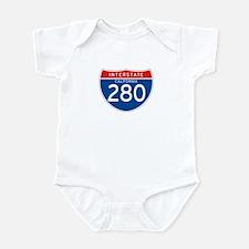 Interstate 280 - CA Infant Bodysuit