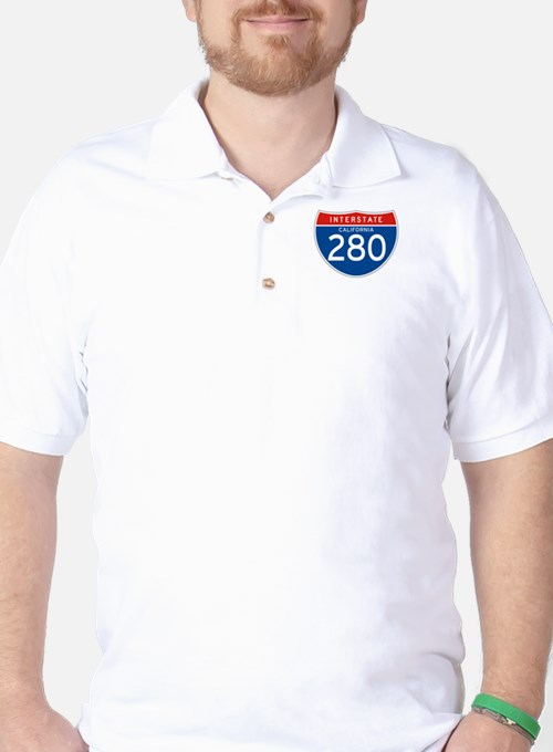 Interstate 280 - CA Golf Shirt