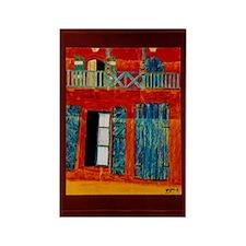 Caye Haiti Art Rectangle Magnet