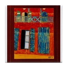 Caye Haiti Art Tile Coaster