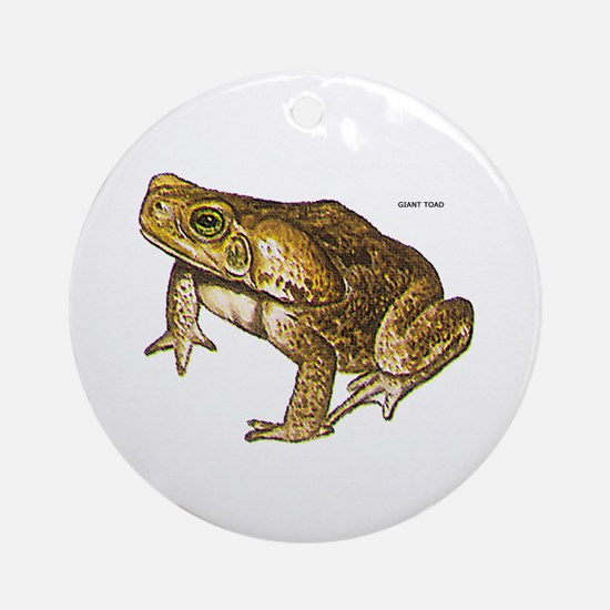 Giant Toad Ornament (Round)
