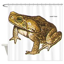 Giant Toad Shower Curtain