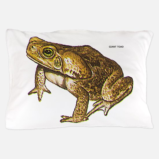Giant Toad Pillow Case