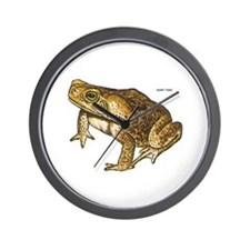 Giant Toad Wall Clock