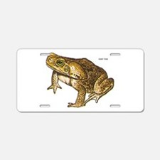 Giant Toad Aluminum License Plate