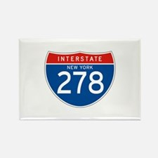 Interstate 278 - NY Rectangle Magnet