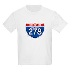 Interstate 278 - NY Kids T-Shirt