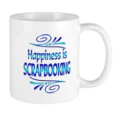 Happiness is Scrapbooking Small Mug