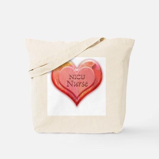 I heart NICU nurse Tote Bag
