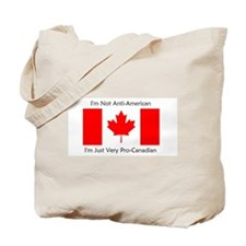 Pro-Canadian Tote Bag