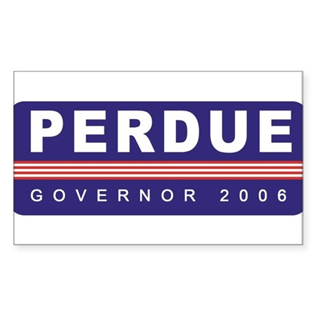 Support Sonny Perdue Rectangle Sticker