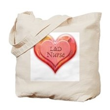 I heart L&D Nurse Tote Bag