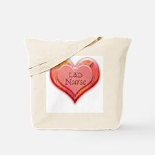 I heart L&D Nurse Tote Bag