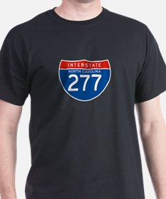 Interstate 277 - NC T-Shirt