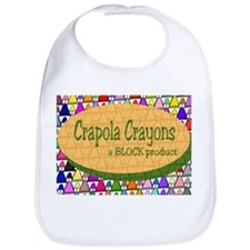 'Colorful Crapola' Bib