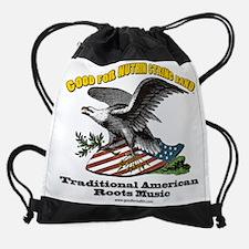 Funny Mountain dulcimer Drawstring Bag