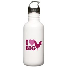 I Love Big Water Bottle