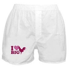 I Love Big Boxer Shorts