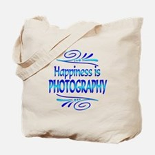 Happiness is Photography Tote Bag