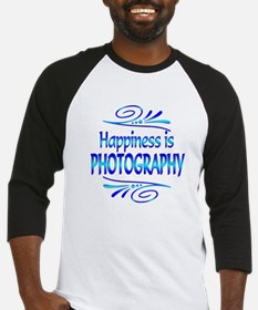 Happiness is Photography Baseball Jersey