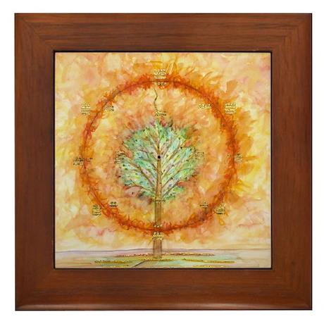 Sundance Tree Framed Tile