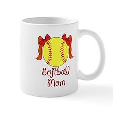 Softball mom red head Mug