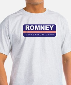 Support Mitt Romney Ash Grey T-Shirt