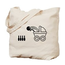 born_to_bowl Tote Bag