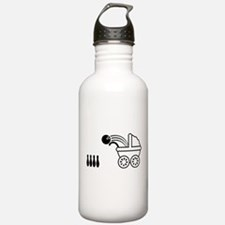 born_to_bowl Water Bottle
