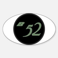 B-52 Sticker (Oval)