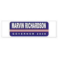 Support Marvin Richardson Bumper Bumper Sticker