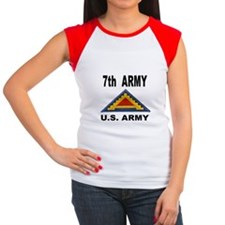 7TH ARMY Women's Cap Sleeve T-Shirt
