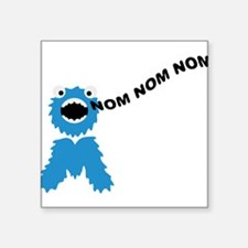 om_nom_nom_nom_monster Sticker
