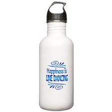 Happiness is Line Dancing Water Bottle