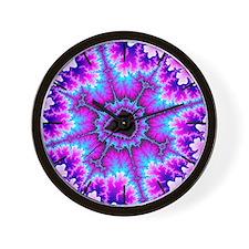 ''Tie Dye'' Clock