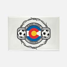 Colorado Soccer Rectangle Magnet