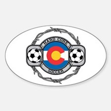 Colorado Soccer Oval Decal