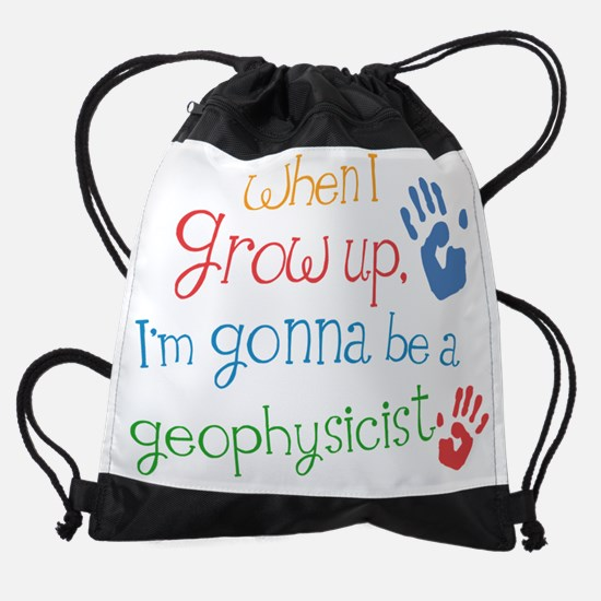 Future Geophysicist Drawstring Bag